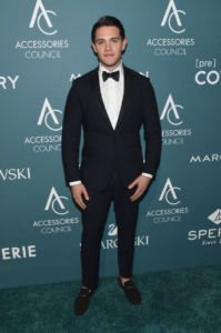 Casey Cott at Accessories Council hosts the 22nd Annual ACE Awards v1 current