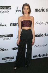 MARIE CLAIRE CELEBRATED HOLLYWOOD'S 'FRESH FACES' EVENT TO HONOR MAY COVER STARS ON APRIL 27 IN LA 29