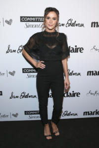 Bella Dayne attends Marie Claire Celebrates Fifth Annual 'Fresh Faces' in Hollywood with SheaMoisture, Simon G. and Sam Edelman at Poppy on April 27, 2018 in Los Angeles, California.