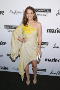 Bethany Joy Lenz attends Marie Claire Celebrates Fifth Annual 'Fresh Faces' in Hollywood with SheaMoisture, Simon G. and Sam Edelman at Poppy on April 27, 2018 in Los Angeles, California.