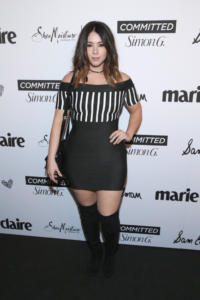 Jillian Rose Reed attends Marie Claire Celebrates Fifth Annual 'Fresh Faces' in Hollywood with SheaMoisture, Simon G. and Sam Edelman at Poppy on April 27, 2018 in Los Angeles, California.