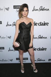 Olesya Rulin attends Marie Claire Celebrates Fifth Annual 'Fresh Faces' in Hollywood with SheaMoisture, Simon G. and Sam Edelman at Poppy on April 27, 2018 in Los Angeles, California.