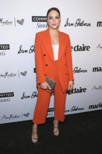 Tasya Teles attends Marie Claire Celebrates Fifth Annual 'Fresh Faces' in Hollywood with SheaMoisture, Simon G. and Sam Edelman at Poppy on April 27, 2018 in Los Angeles, California.