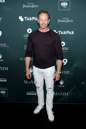 Ian Ziering attends the 2020 MAXIM Big Game Experience on February 01, 2020 in Miami, Florida.