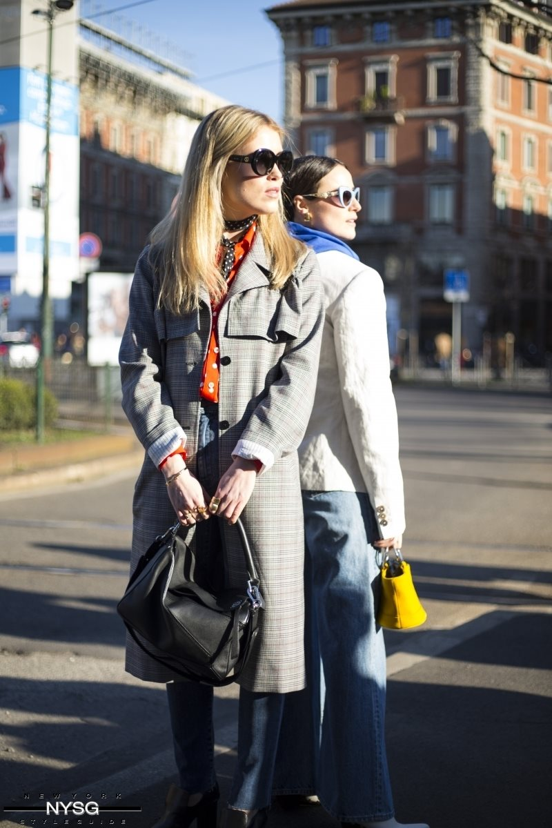 London Fashion Week Street Style Day 1