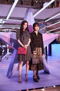 Yang Mi and Bibi Zhou 1
