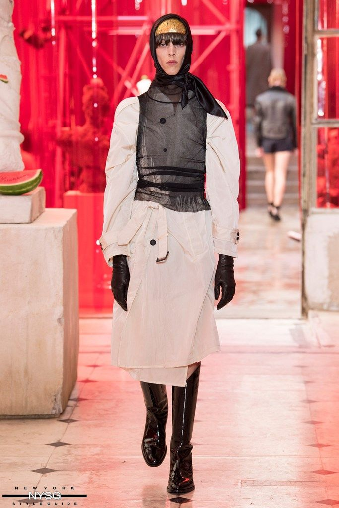 Maison Margiela Spring Summer 2019 Menswear Paris Fashion Week Men\'s