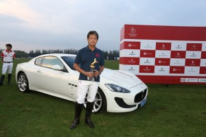 HRH Prince Jefri Bolkiah of the Maserati team was recognized for his performance with the Most Valuable Player prize
