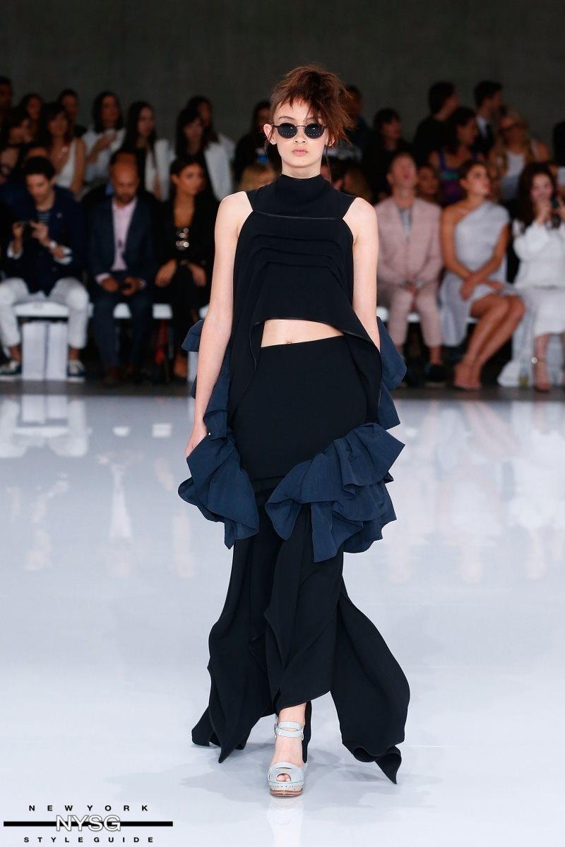 Toni Maticevski Australia Fashion Week Runway Show Resort 17