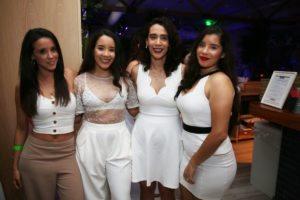 Marcelle Valle, Heidi Malaret, Shelrey Martinez, Anna Malaret