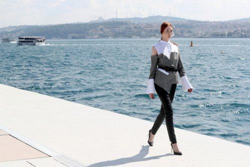 Murat Aytulum Runway Show Mercedes-Benz Fashion Week Istanbul