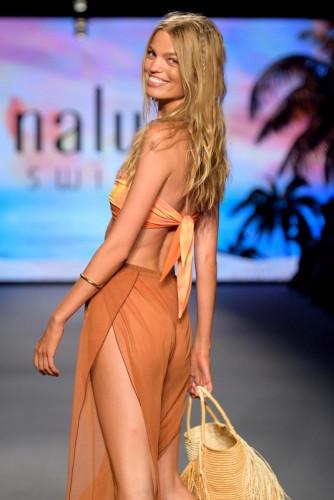 NALU Swimwear Runway Show Paraiso Miami Beach 2021