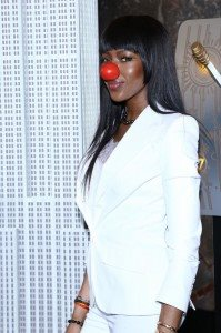 NAOMI CAMPBELL RED NOSE DAY HIRES 1290