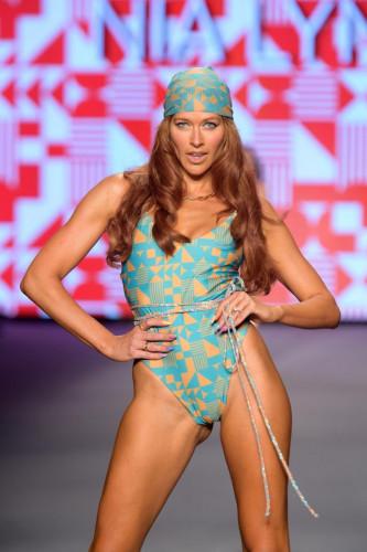 NIA LYNN Swimwear Runway Show Paraiso Miami Beach 2021