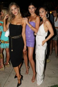 Joy Corrigan, Nicole Williams English,  Cara Santana