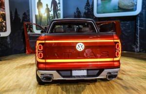 VW Atlas Tanoak concept vehicle