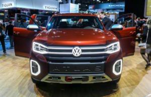 VW Atlas Tanoak concept vehicleB