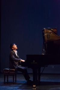 Classical Music Winner Baron Cao performing at Baryshnikov Arts Center photo by Jordan Tiberio