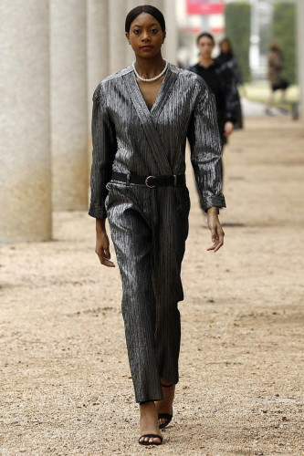 Negris LeBrum Shows The Homecoming on the Runways of NYFW for Fall Winter 2021