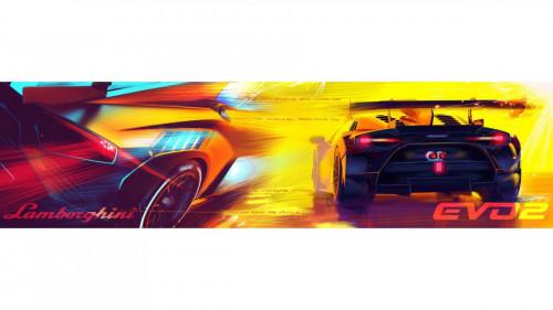 Lamborghini Huracán Super Trofeo EVO2 - Centro Stile - Sketches