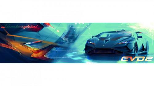 Lamborghini Huracán Super Trofeo EVO2 - Centro Stile - Sketches 2