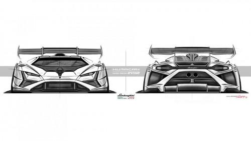 Lamborghini Huracán Super Trofeo EVO2 - Centro Stile - Sketches 3