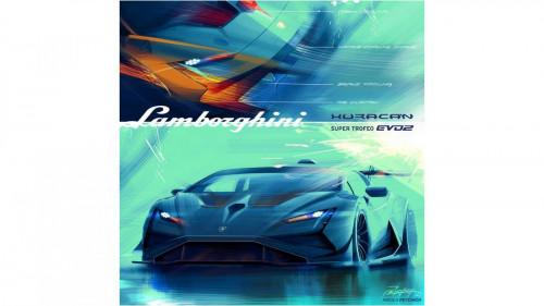Lamborghini Huracán Super Trofeo EVO2 - Centro Stile - Sketches 4