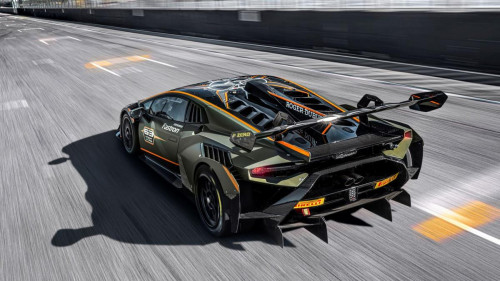 Lamborghini Huracán Super Trofeo EVO2 4