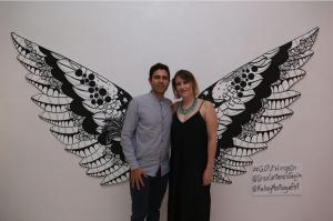 Adrian grenier & Kelsey montague