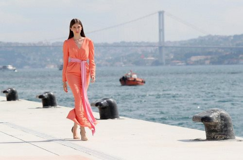 Nihan Peker Runway Show - Mercedes-Benz Fashion Week Istanbul
