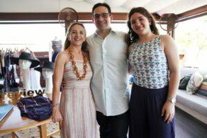 Mary, Joshua,  Gabriella Cohen