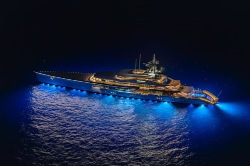 Oceanco MY Bravo Eugenia night in Capri - Credits Mario Coppola