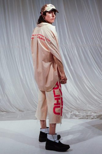 Official Rebrand's Fall Winter 2020 Collection at New York Fashion Week