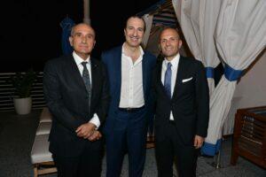 Lucio Taglione, Alvise Casellati, Cristiano Musillo