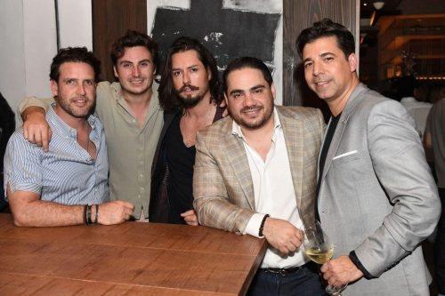 Jose Moreno, Cheto, Jose Servin, Christian Bonatti, Maurcio Martin