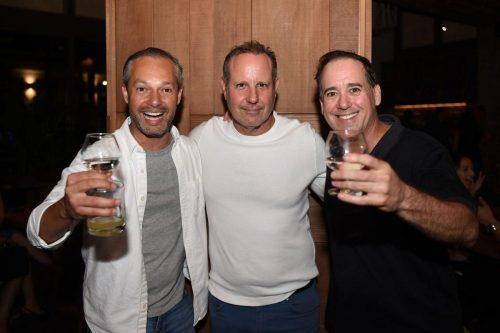 Mauricio Tinajero, David Gordon, Brad Gould