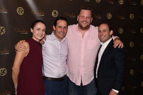 Natalia Ocampo, Andres Del Corral, Henry Hane, Ernesto Sosa