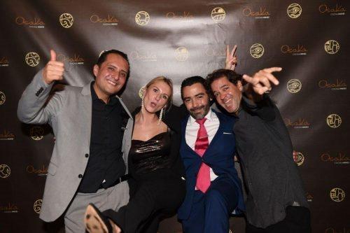 Pepe Guzman, Iwona Urbanska, Christian Delgado, Diego De La Puente