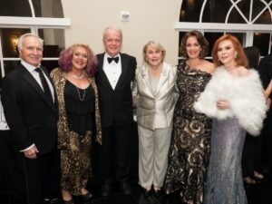 Rudy Kranis, Norma Jean Abraham, Brion Keeley, Susan Keeley, Cynthia Demos and Lois Russell