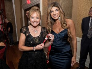 Swanee DiMare and Teresa Giudice with Chopard watch