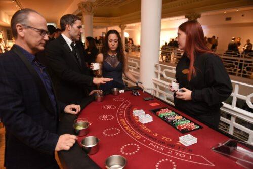 Casino Silent Auction