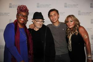 Betty Wright, Phil Collins, Nic Collins, & Orianne Collins1