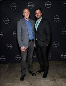 Rob Sharenow President Programming, A&E Networks (Right)