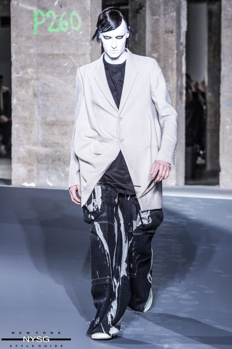 Rick Owens Mens Fw 2016 Paris Fashion Week