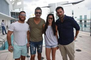 Marcelo Vega, Ricardo Felgueres, Camilla Arizaga, & Ignacio Alegria