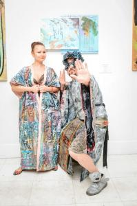 SagamoreMiamiBeachMiamiArtWeekBrunch2017 guest with Daniel Chimowitz preview