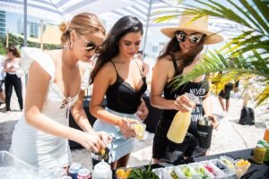 Sports Illustrated Swimsuit Attends Peroni Beach Bash at W South Beach (7)