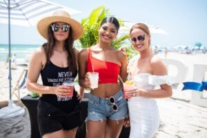 Sports Illustrated Swimsuit Attends Peroni Beach Bash at W South Beach (9)