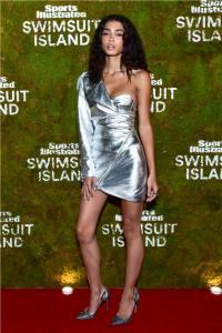 SI Swimsuit Island Announcement in Miami Beach - Model 33