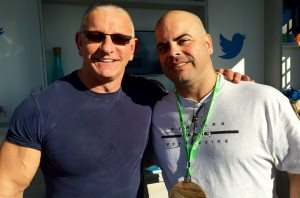 Robert Irvine and Angel Rivera